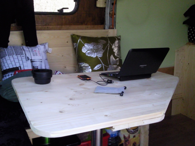 The mobile office.