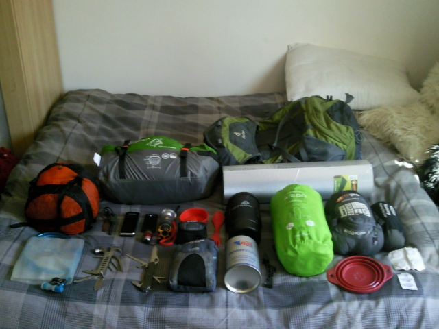Wild Camping Pack