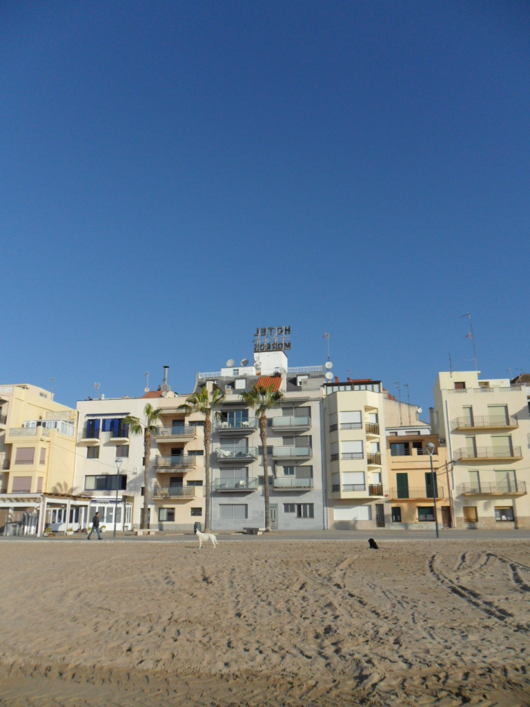 The low rise seafront of Torredembarra