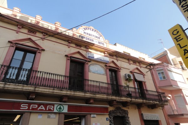 Typical architecture in Torredembarra, Catalonia