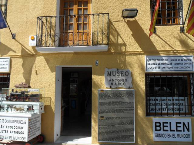 Dolls house Museum, Guadalest, Valencia