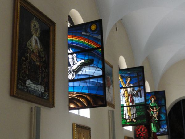 Virgen del Rosario Church, Fuengirola - stained glass