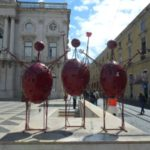 Lisbon in pictures - three giant ant aliens thingymajig