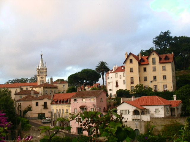 The historic town of Sintra near Lisbon, Portugal