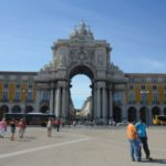 Lisbon in pictures - archway for giants