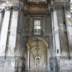 Lisbon in pictures - stone passageway