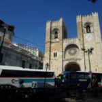 Lisbon in pictures - cathedral entrance