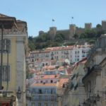 Lisbon in pictures - view of the castle