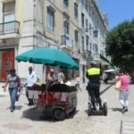 Lisbon in pictures - cop on a segue way (lol)