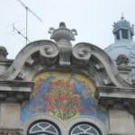 Lisbon in pictures - stunning facade on top of building