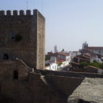 The keep of the castle at Monsaraz, Alentejo, Portugal