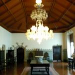 Inside the National Palace of Sintra, Lisbon, Portugal