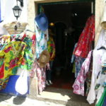 One of the many craft shops in Obidos
