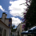 Rua Direita in Obidos is the best place to find cheap accommodation, restaurants and gift shops