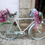 This old bike has been given a new lease of life at a shop in Obidos