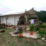 The trapper's tent in all its glory, Visao dos Campos, Portugal