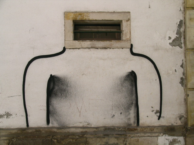 Nothing is sacred to the graffiti artists of Coimbra