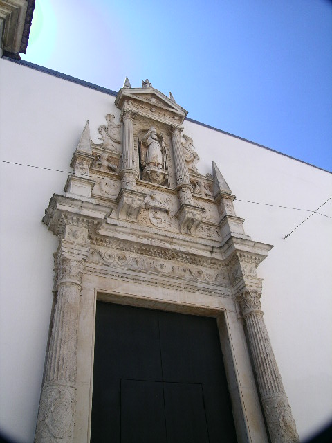 The detail on many of the buildings in Coimbra is exceptional